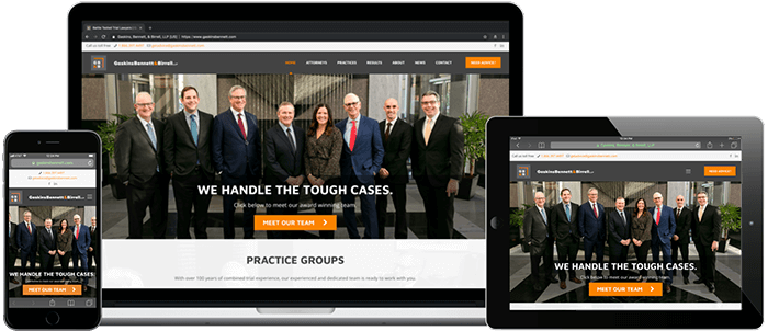 Gaskins Bennett Birrell LLP - Minneapolis Web Design - Digital 1